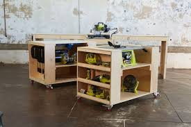 ana white ultimate roll away workbench system for ryobi blogger build off diy projects