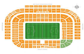 Kaliningrad Stadium Seating Chart Symbolic Old Trafford Stadium Seating Plan 2019