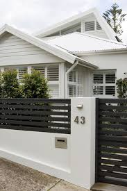 fence gate design.  Gate White Home Ideas With Black Horizontal Fence Gate Design Concrete  Walkway Intended