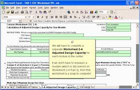 Worksheet 2 A Adjusted Design Capacity For One Module When