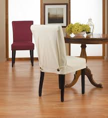 dining room contemporary brown fabric chair slipcovers