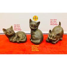 Miêu Chiêu Tài - Mèo Quý Tộc - Tượng Đồng Phong Thủy, giá chỉ 480,000đ! Mua  ngay kẻo hết!