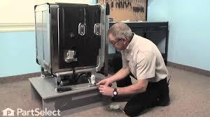How To Repair Dishwasher Dishwasher Repair Replacing The Door Balance Link Kit Whirlpool