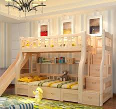 Appealing Bunk Bed With Stairs And Slide Junior Loft 738x480 Curtain