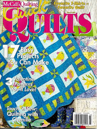 2003 McCall's Quick Quilts Magazine March 17 Projects #Q89 ... & 2003 McCall's Quick Quilts Magazine March 17 Projects #Q89 Adamdwight.com