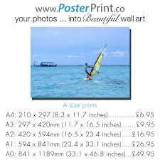 standard size posters photos into beautiful poster prints
