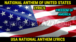 United States NATIONAL ANTHEM (USA ...