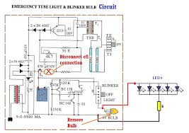 led emergency light 4 steps cfl to led wiring diagram picture of step 2 circuit diagram