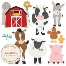 baby farm animals clip art. Contemporary Art This Is A Set Of 11 Farm Animal  Barnyard Images Professionally  Drawn By Me Includes Horse Clipart Cow Donkey Pig  With Baby Farm Animals Clip Art S