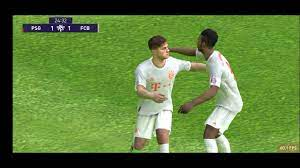Efootball PES 2021 - E. choupo-moting and D. james goll 🔥🔥 - YouTube