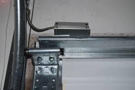 garage door sensor alarm