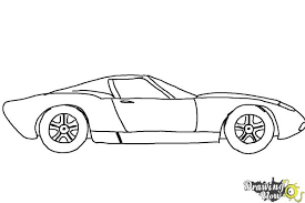 sport cars drawings. Simple Drawings How To Draw A Sports Car  Step 8 And Sport Cars Drawings S