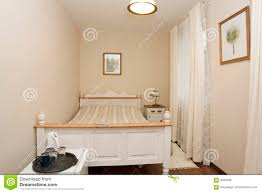 Small White Bedrooms Small White Bedroom Royalty Free Stock Photos Image 3040408
