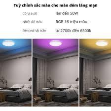 Đèn Trần Thông Minh Yeelight Arwen 450C và 550C - 50W Led RGB