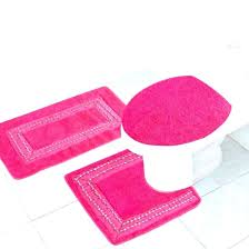 hot pink bathroom accessories impressive bathroom rug sets pink accessories inspiration pink bathroom rug sets will