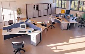 long office table. four person workstationlong table workstationsoffice station long office