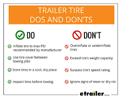 Trailer Tire Pressure Chart 7 Common Questions Everyone Has About Trailer Tires
