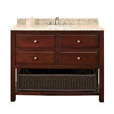 42 Bathroom Vanity Shop Ove Decors Danny Chocolate 42 In Undermount Single Sink Birch