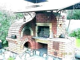 dry stack brick oven wood fired pizza plans outdoor luxury finest image cost home decorators building