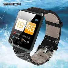 Online Shop <b>SANDA Smart</b> Watch for IOS Android Men Bluetooth ...