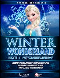 winter wonderland frozen inspired flyer designs by denna winter wonderland flyer sample