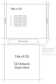 Cd Case Design Template Jewel Case Template Psd Naomijorge Co