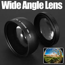 <b>58mm 0.45X Wide Angle</b> Macro Lens For Canon EOS 1000D 1100D ...