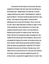 writing essay worst day my life  essay the worst day in my life usingenglish com