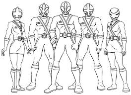 Power Rangers Coloring Pages Free Printable Coloring Pages
