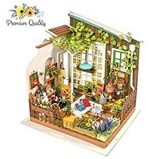 diy craft wood building kit toys christmas gift present 1 18