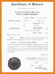 Example Of Divorce Decree New 48 Divorce Decree Valuefilmsnet