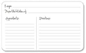 card recipe free printable recipe cards printable recipe cards recipe