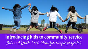 Dos And Donts For Community Service Projects With Kids The