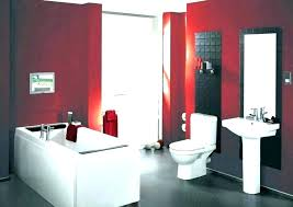 black and red bathroom ideas red black and white bathroom decor red bathroom decor ideas red