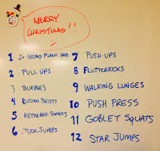 12 days of song workout a holiday wod inspired by the song