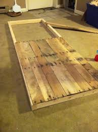 reclaimed pallet barn wood. sliding barn door from reclaimed pallet wood we could make a s