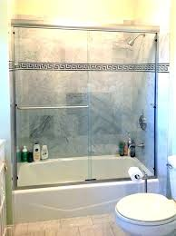 tub shower doors for kohler door frameless glass enclosures and