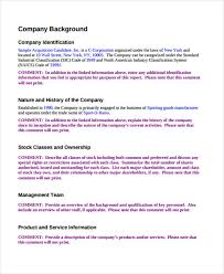 sample business proposal 13 company proposal templates free word pdf format