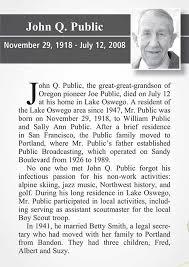 Best Photos Of Obituary Writing Examples Sample Obituary