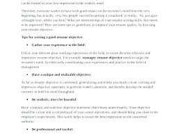 Best Objective In A Resume Example Of A Good Objective On A Resume