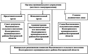 Дипломная работа Организация местного самоуправления в сельском  Субъект муниципального управления