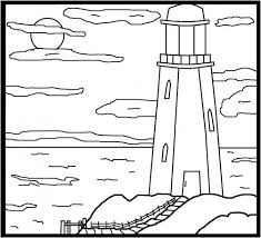 Small Picture Lighthouse Coloring Page RedGage
