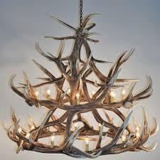beautiful elk antler chandelier 3 18