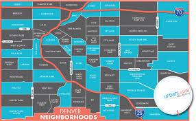 urban luxe real estate  denver neighborhood map  urban luxe real