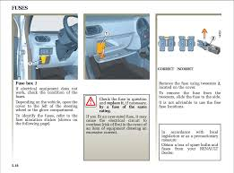 fuse box location for 2006 renault scenic motor vehicle 1 answer 1