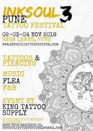 3rd Inksoul Pune Tattoo Festival 2018 Tattoo Ideas Artists Ink