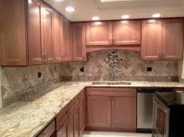 Stone Backsplashes For Kitchens Kitchen Backsplash Kitchen Downlights And Marble Countertop Also