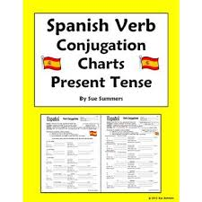 Spanish Tenses Chart Pdf Spanish Verb Tenses Chart Pdf