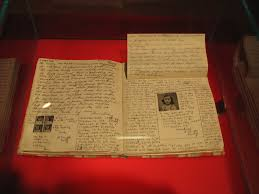 file anne frank diary at anne frank museum in berlin pages  file anne frank diary at anne frank museum in berlin pages 92
