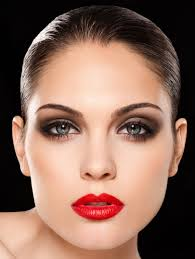 glamorous red lips for you